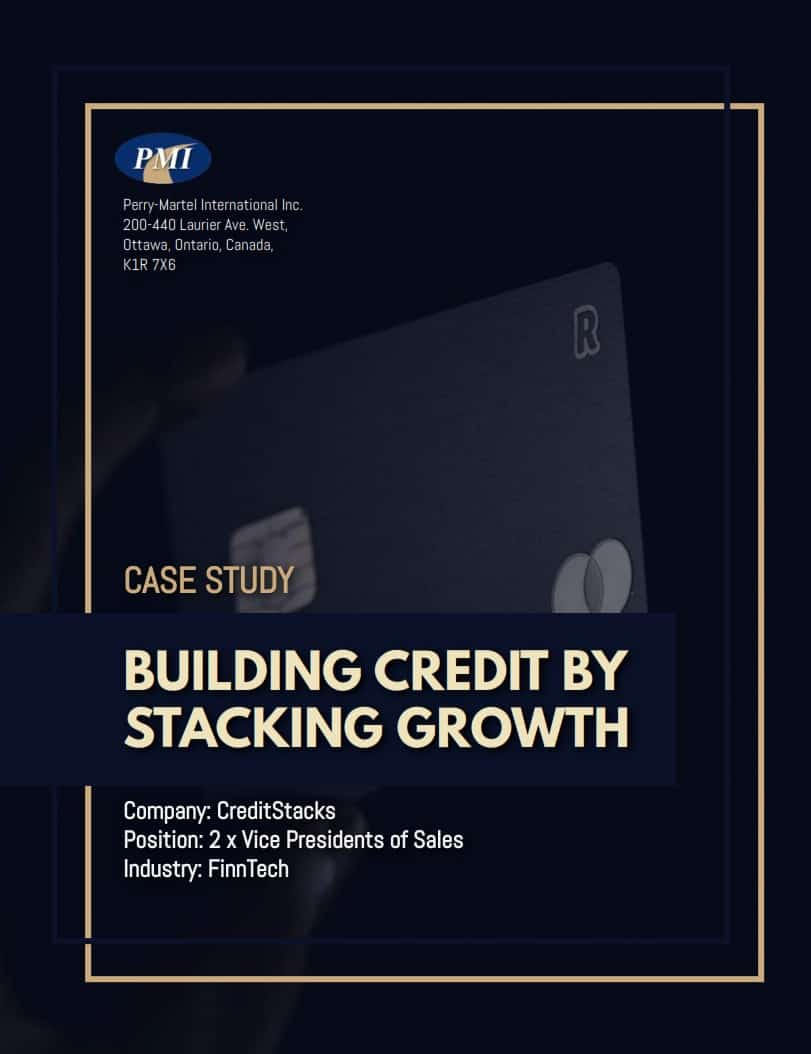 Vice President of Sales Case Study Cover