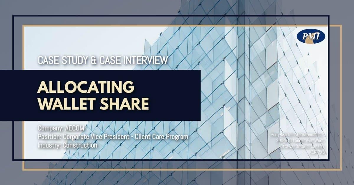 Vice President Client Care - Case Study & Case Interview AECOM 3