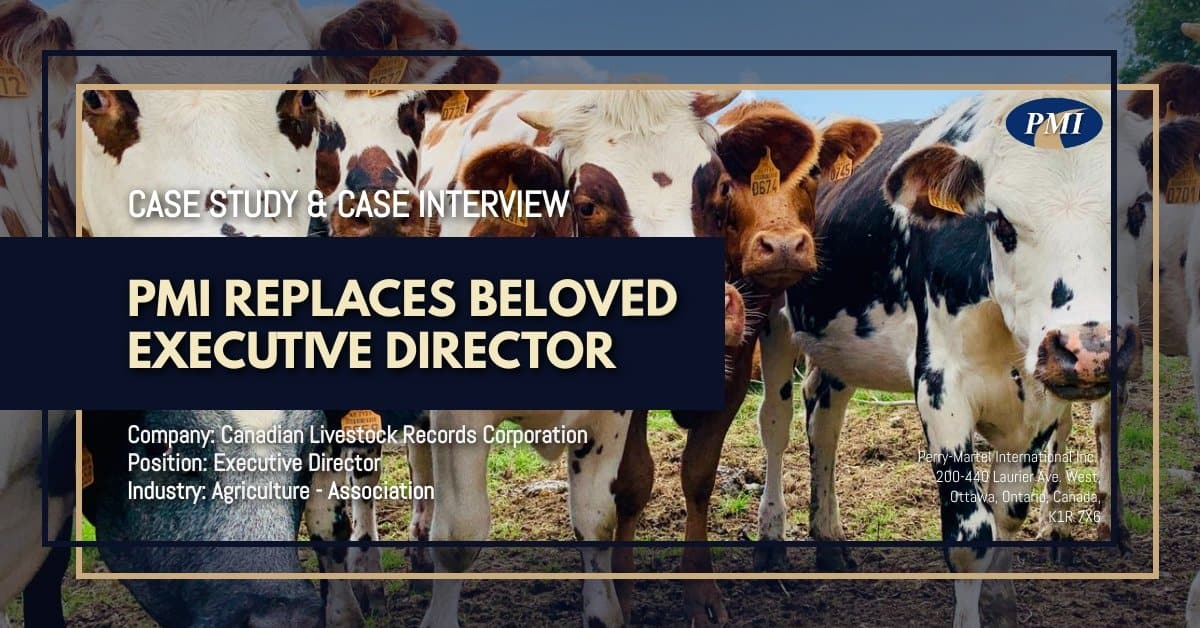 Agriculture – Association Executive Director Case Study and Case Interview CLRC