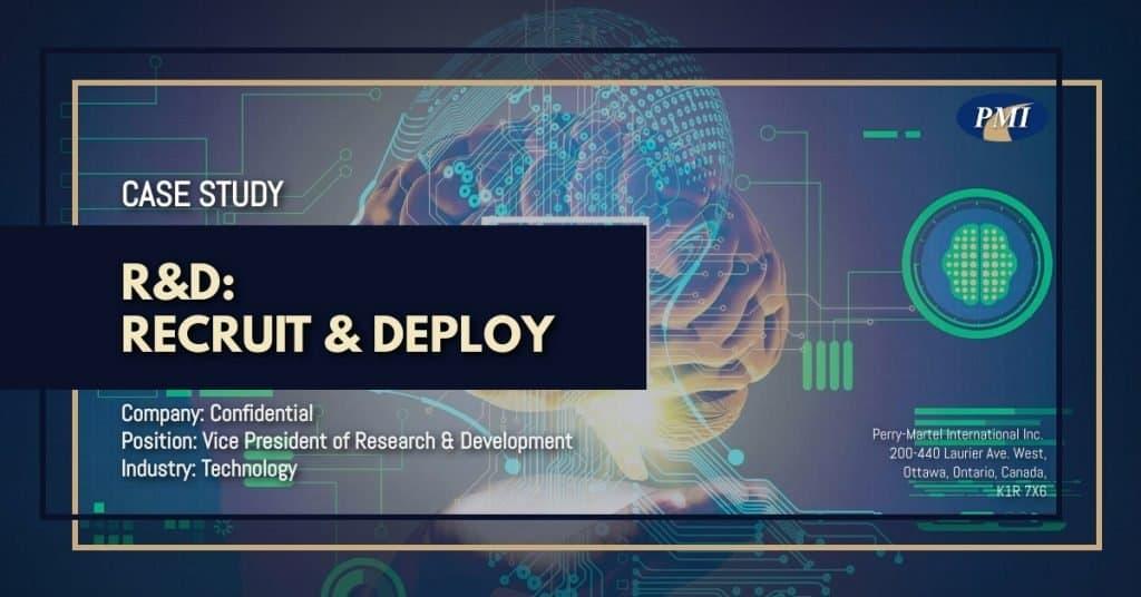 Technology Vice President of Research & Development Case Study